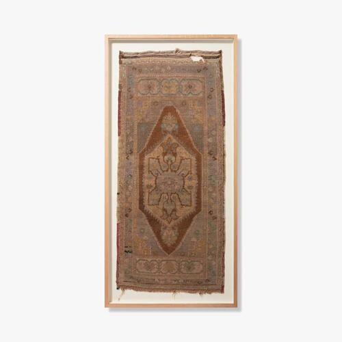 0351760014 Vintage Turkish Rug Wall Art