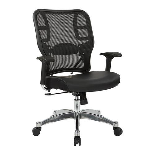 Black Vertical Mesh Back Chair