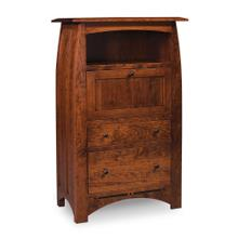 See Details - Aspen Laptop Cabinet with File Drawer and Inlay