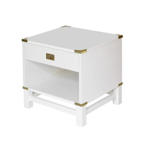 Glam Campaign Open Nightstand
