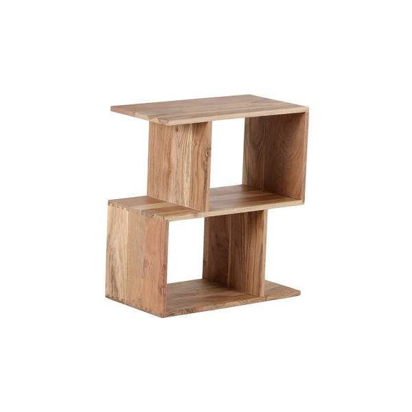See Details - Portola Natural 2 Cube Bookcase, 2001-7212NT