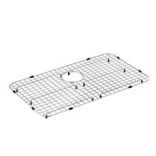 "Moen Stainless Steel Rear Drain Bottom Grid Accessory 28"" x 16"""