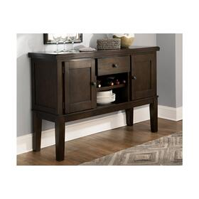 Haddigan Dining Room Server Dark Brown