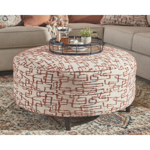 Amici Oversized Accent Ottoman