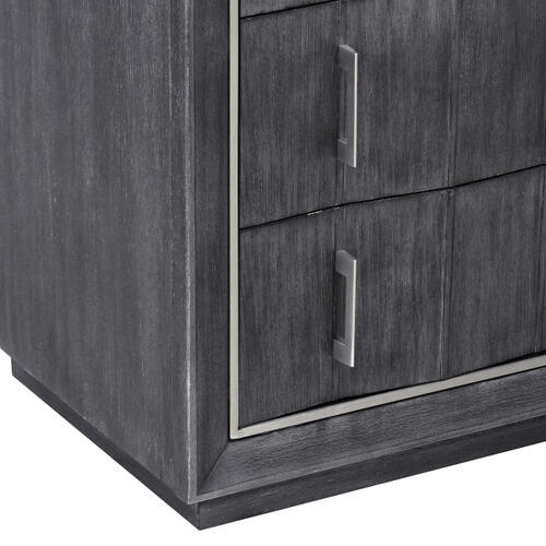 Pulaski Furniture - Echo Media Chest in Charcoal