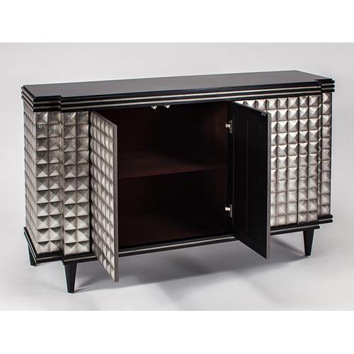 "Cabinet with 3 doors 62x17x37"""
