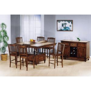 """All Wood Furniture - Solid Hardwood Barstool - 24"""""""