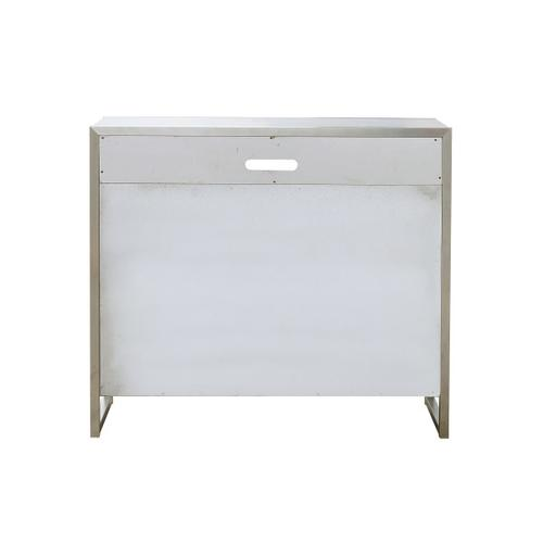 Sutton Place 3 Drawer Media Chest in Grey