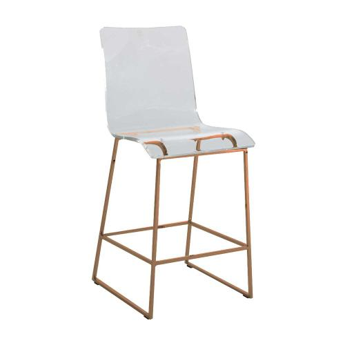 "King 24.75"" Counter Stool - Gold"