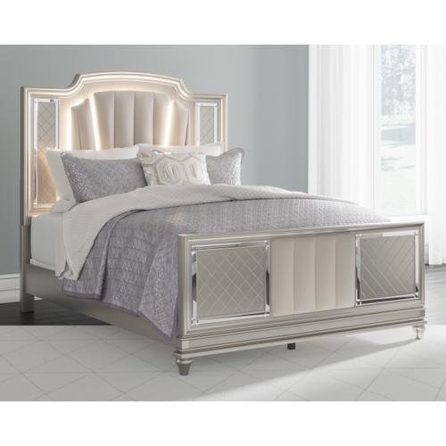 Chevanna Queen Upholstered Panel Bed