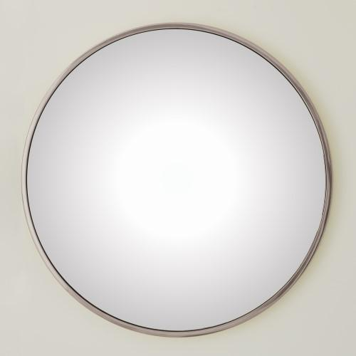 Hoop Convex Mirror-Nickel-Sm