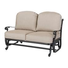 Florence Cushion Loveseat Glider