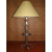 See Details - Metal Lamp With Cross