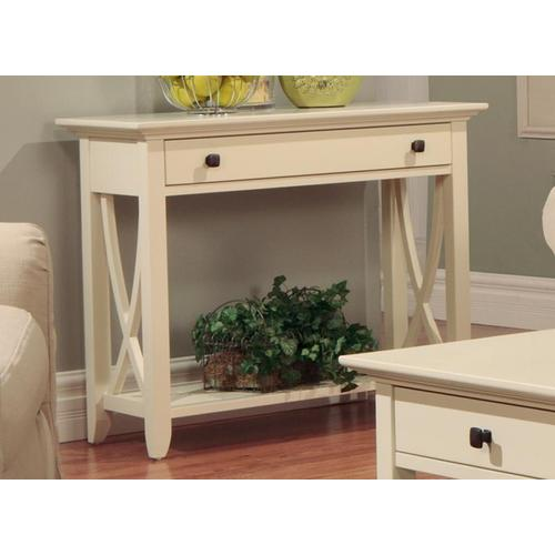 - Florence Sofa Table With Drawer and Shelf