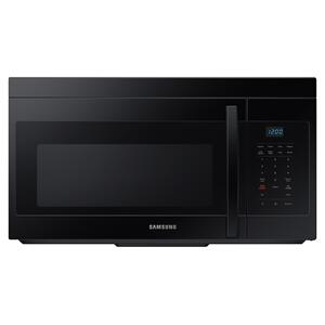 1.6 cu. ft. Over-the-Range Microwave with Auto Cook in Black Product Image