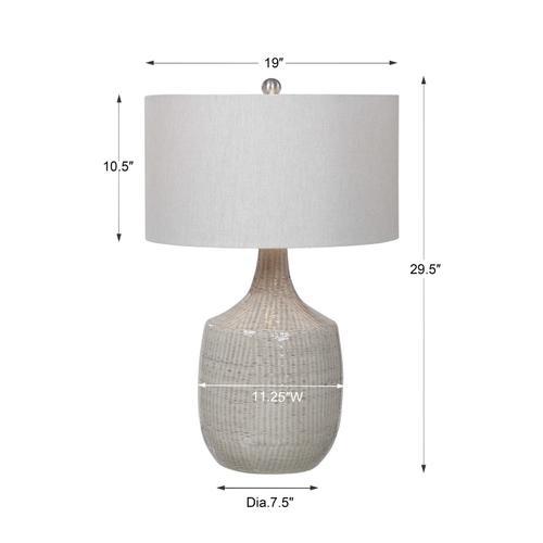Uttermost - Felipe Gray Table Lamp