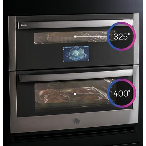 "GE Profile™ 30"" Smart Built-In Twin Flex Convection Wall Oven"
