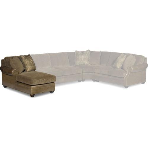 Bradington Young Warner LAF Chaise Lounge 8-Way Tie 220-41