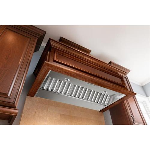 """Best By Broan - 36"""" Stainless Steel Built-In Range Hood with iQ6 Blower System, 600 CFM - Floor Model"""
