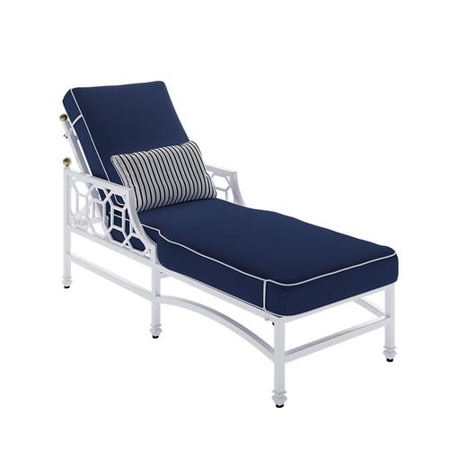 Castelle - Barclay Butera Cushioned Chaise Lounge