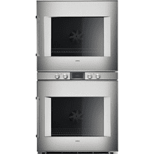 400 Series Double Oven 76 Cm Stainless Steel Behind Glass, Door Hinge: Right, Door Hinge: Right