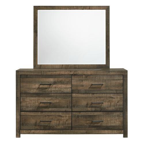 Elements - Bailey 6-Drawer Dresser & Mirror Set