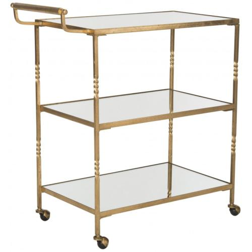 Aurelius Bar Cart - Gold