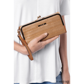 Island Breeze Woven Wristlet Wallet (3 pc. ppk.)