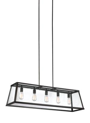 Harrow Linear Chandelier Oil Rubbed Bronze Product Image