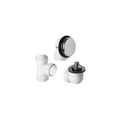 Mountain Plumbing - ABS Plumber's Half Kit with Deluxe Lift & Turn Trim (Designer Face Plate) - Venetian Bronze