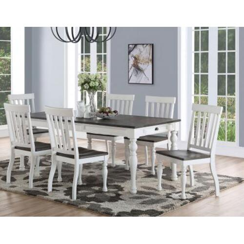 "Steve Silver Co. - Joanna 64-80 inch Dining Table w/ 16""Leaf"