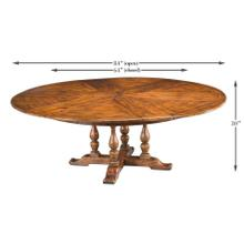 See Details - Walnut Jupe Dining Table, Large