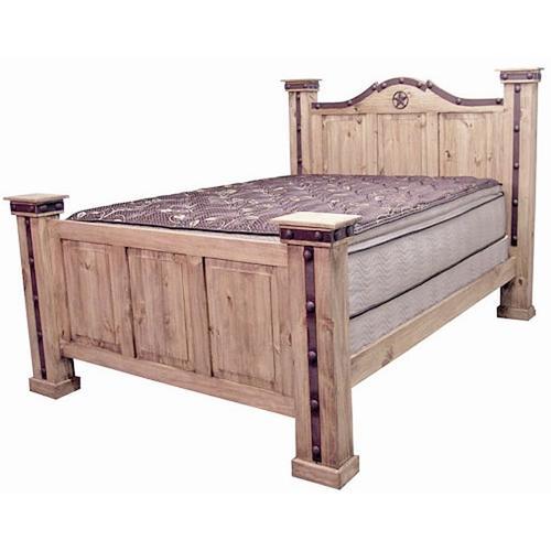 King Iron Alamo Bed