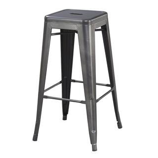 "Dakota II 30"" Bar Stool Gray"