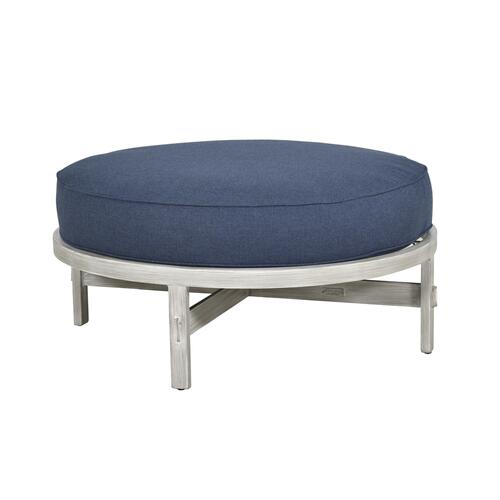 Antler Hill Cushioned Round Ottoman