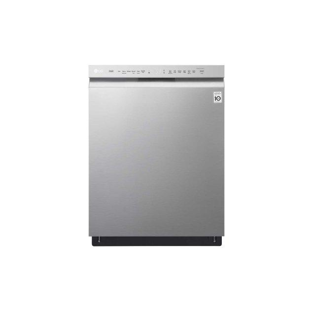 LG Appliances Front Control Dishwasher with QuadWash™ and EasyRack™ Plus