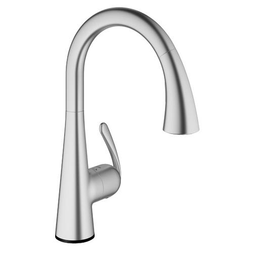 Product Image - Ladylux Single-handle Pull Down Kitchen Faucet Dual Spray 1.75 Gpm With Touch Technology