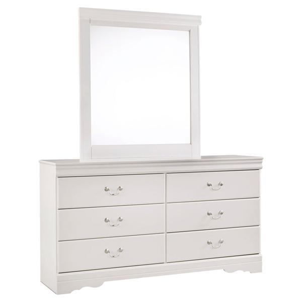 Anarasia Dresser and Mirror