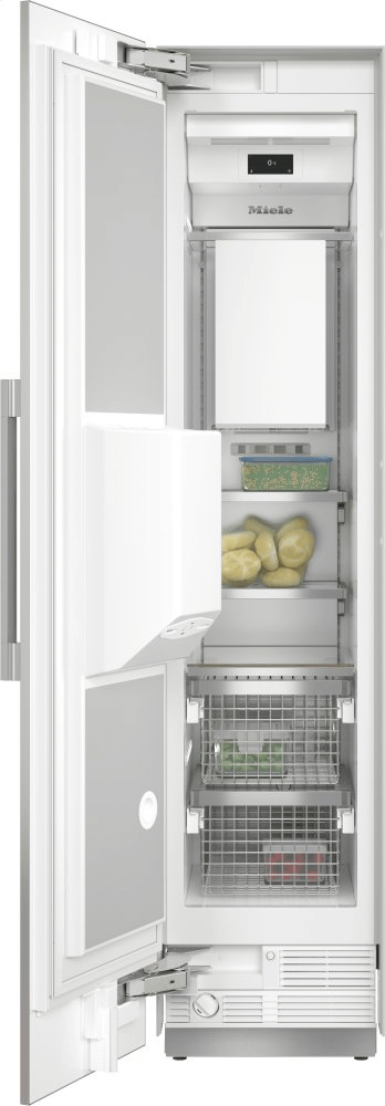 MieleF 2472 Sf - Mastercool™ Freezer Integrated Icemaker Features Separate Water And Ice Dispensers.