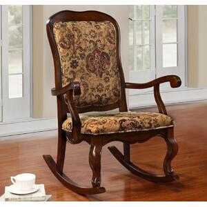 Rocker W/ Fabric Seat (rta)