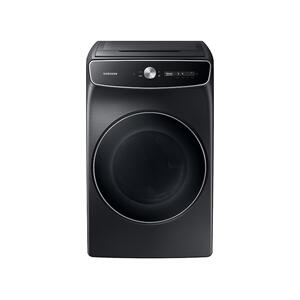 Samsung7.5 cu. ft. Smart Dial Gas Dryer with FlexDry™ and Super Speed Dry in Brushed Black
