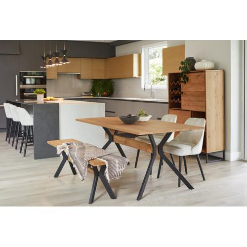 Modrest Nevada - Modern Drift Oak Dining Table