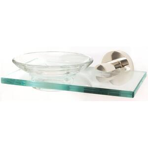 Contemporary I Soap Holder A8330 - Satin Brass