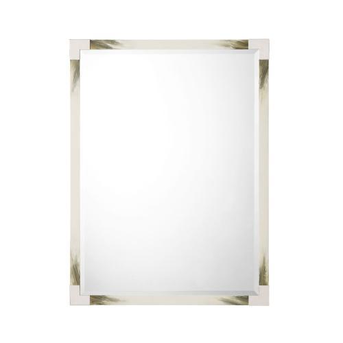 See Details - Cutting Edge Wall Mirror (Longhorn White)