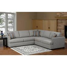 9925 Sectional Light Brown Finish