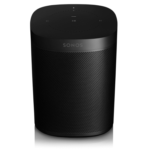 Black- The powerful smart speaker with voice control built-in.