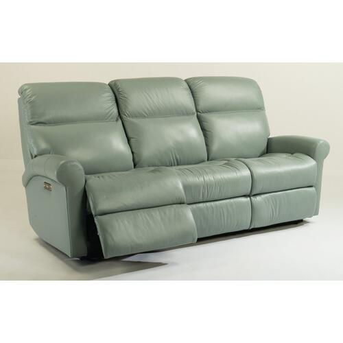 Davis Power Reclining Sofa with Power Headrests