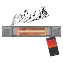 View Product - Original SUNHEAT and Beat Electric Wall or Tripod Mounted Patio Heater with Remote - Gray
