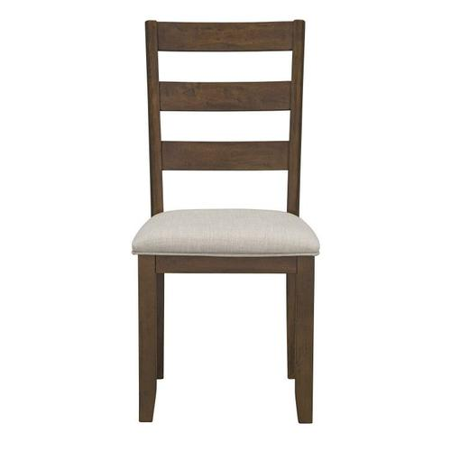 Standard Furniture - Caswell Dark Brown Upholstered Dining Chairs
