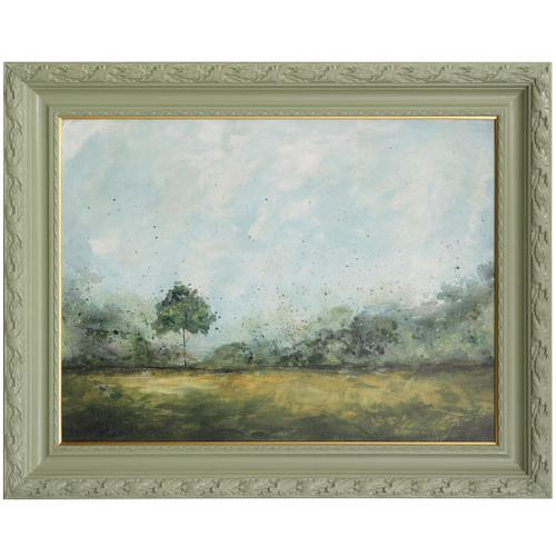Style Craft - SPRING WALK  50 X 40  Made in USA  Textured Framed Print